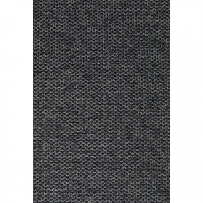 Jolien - 2 tabourets de bar en tissu avec pieds noirs