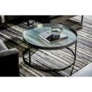 Boli - Table basse ronde en métal