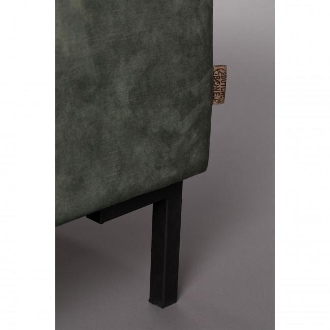 Houda - Canapé 3 places en tissu