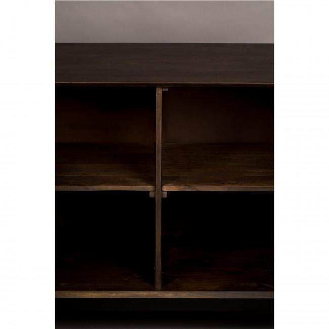 Chisel - Buffet design 2 portes sculptées en bois