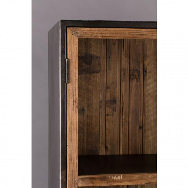 Chisel - Vitrine 2 portes en bois recyclé