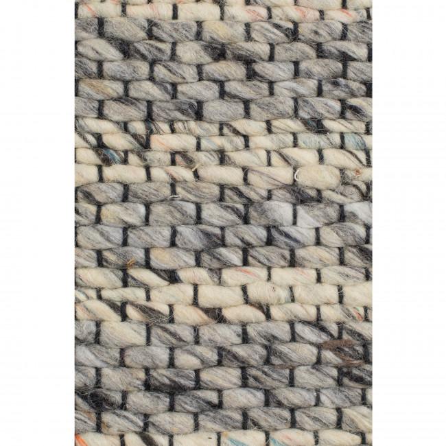 Frills - Tapis à franges gris