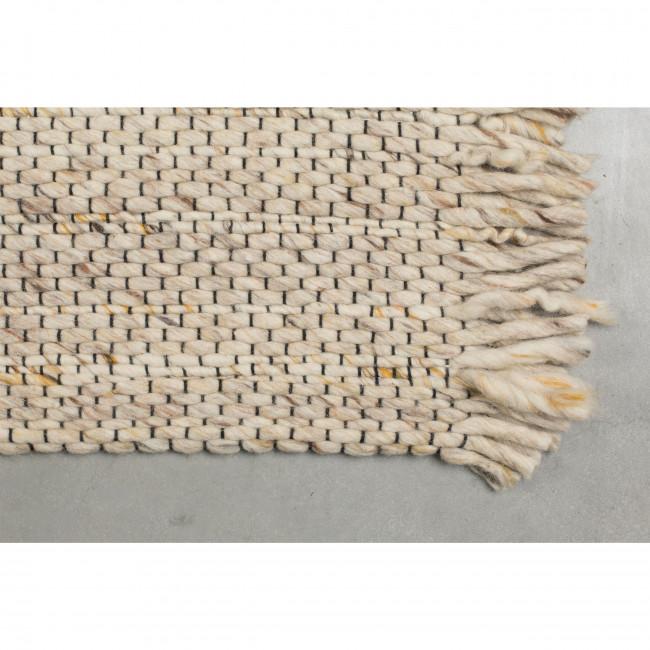 Frills - Tapis à franges beige