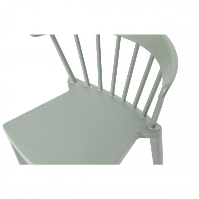 Bliss - 2 tabourets de jardin en plastique