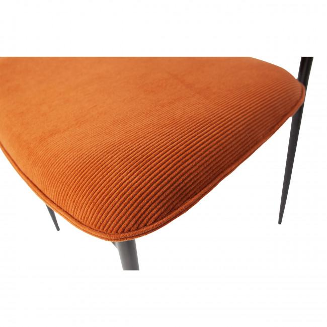 Dané - 2 chaises en velours côtelé