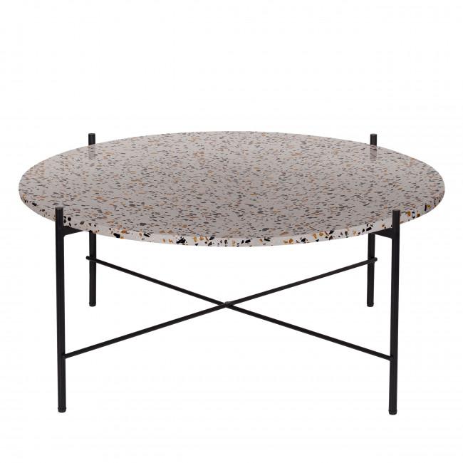 Vayen - Table basse en terrazzo ⌀83