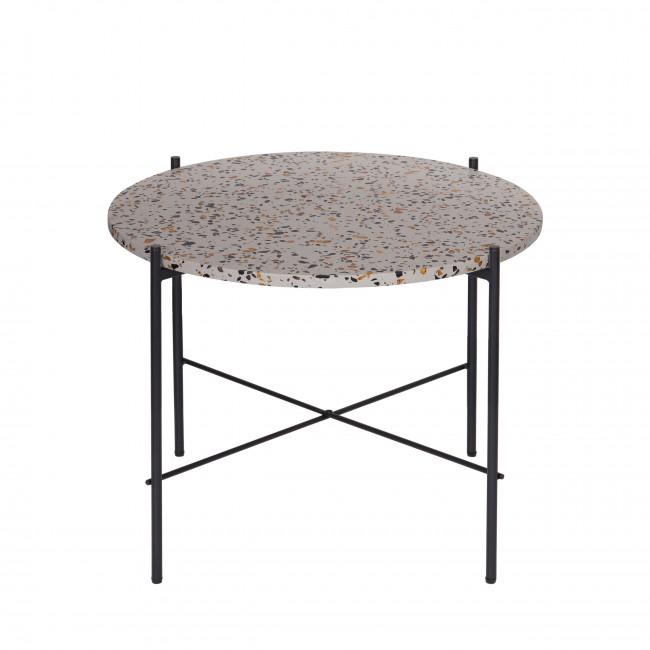 Vayen - Table d'appoint en terrazzo ⌀63