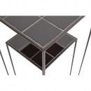 Zeger - 2 sellettes céramique et métal