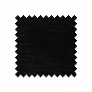 HCJ-50-black - Echantillon gratuit en velours noir