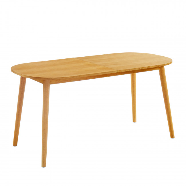 Wielun - Table à manger extensible 160-200x80cm