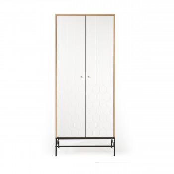 Lia - Armoire 2 portes en bois