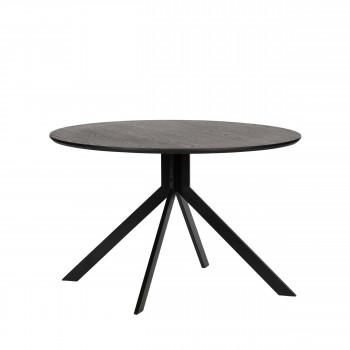 Bruno - Table à Manger en bois Ø120cm