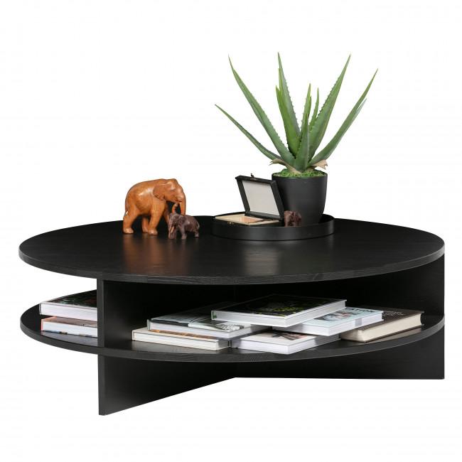 Trian - Table Basse en frêne massif Ø100cm