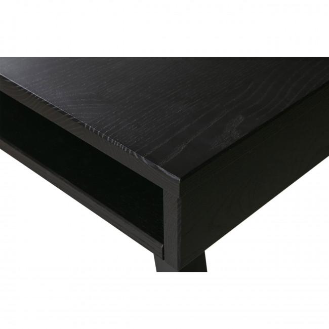 Trian - Table à manger en bois et métal avec piétement en A 220x90cm