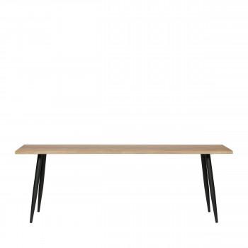 Panel - Table à manger en chêne massif 220x80cm