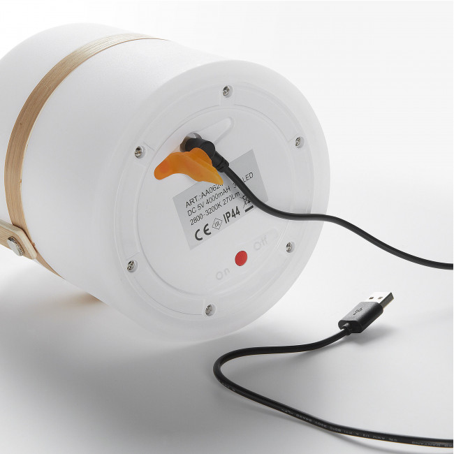 Paradas - Lampe à poser en plastique