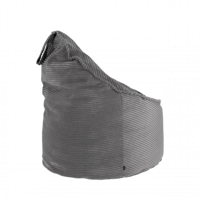 Palmones - Pouf Ø80cm en velours