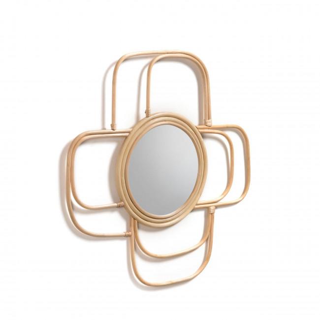 Cuellar - Miroir en rotin
