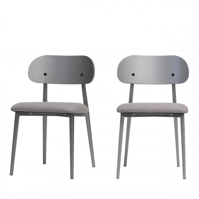 Class - 2 chaises en tissu