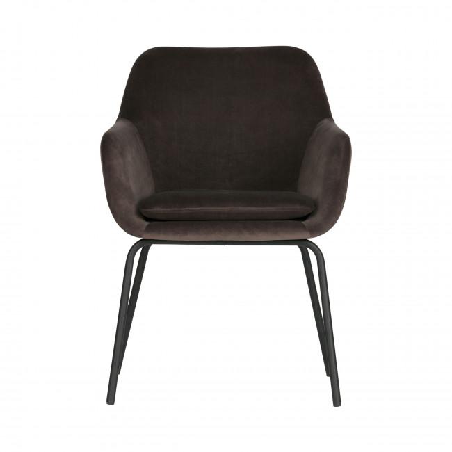 Mood- 2 fauteuils de table en velours