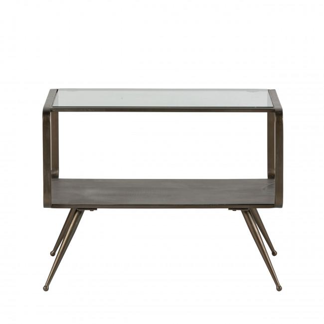 Fancy - Table basse en métal et verre