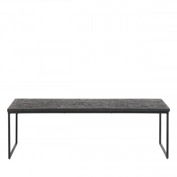 Sharing - Table basse en métal et bois