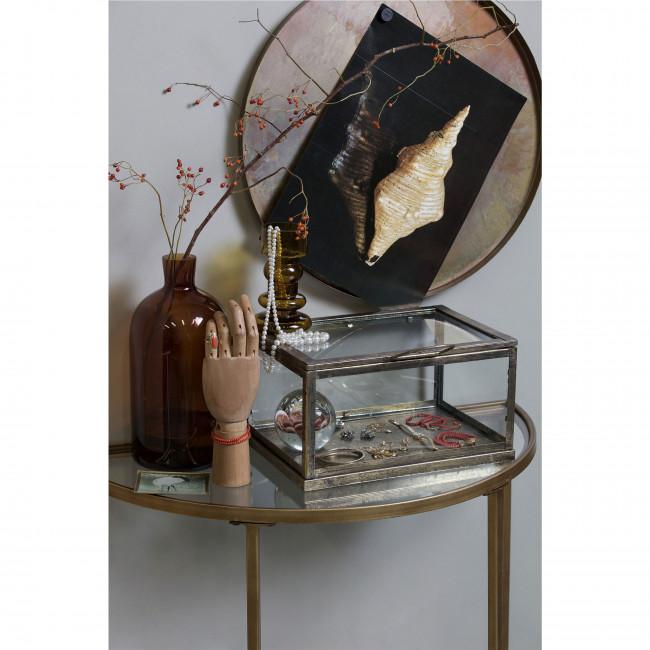 Goddess - Console en métal et verre