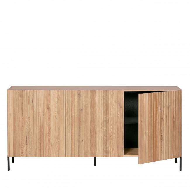 Gravure - Buffet 3 portes en bois
