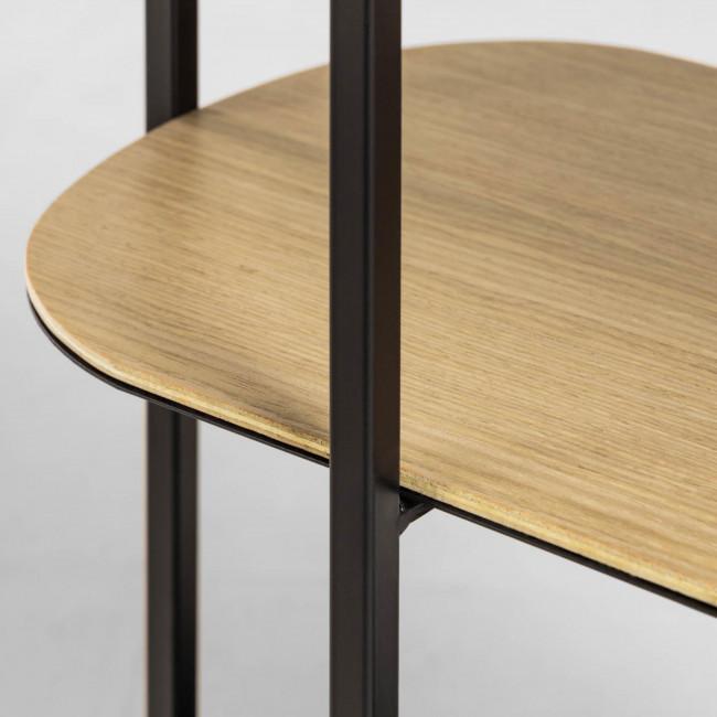 Liacin - Étagère en bois et métal 60x95cm