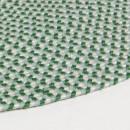 Biduido - Tapis en tissu vert Ø100cm