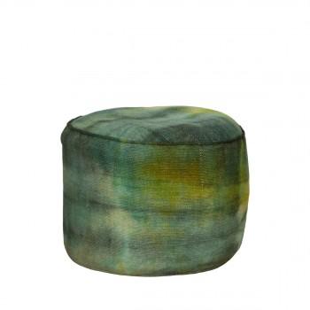 Pouf Tie-Dye vert