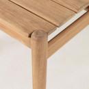 Palmeiro - Table à manger en eucalyptus massif 160x90cm