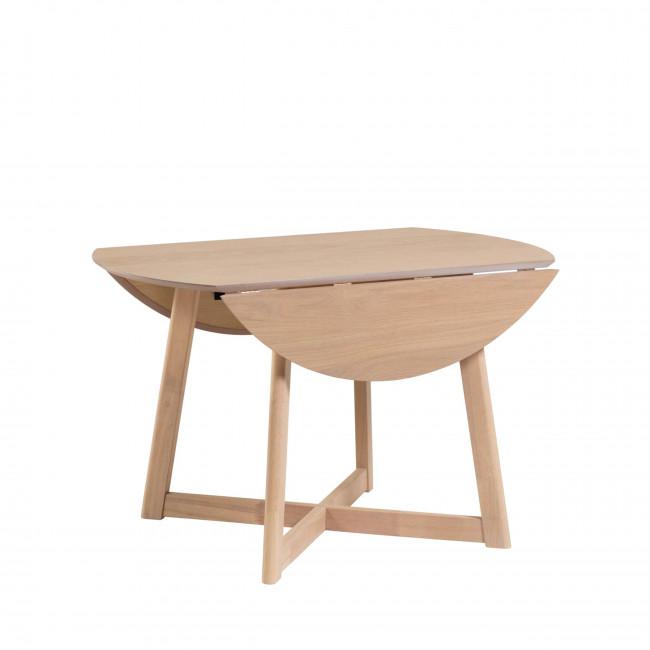 Mosende - Table à manger en bois Ø120x75cm