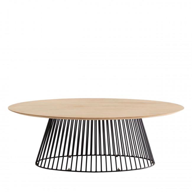 Villariva - Table basse ovale 120x65cm
