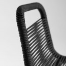 Cacocum - 2 tabourets en métal et corde 74cm