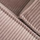 Cayamo - Canapé d'angle gauche en velours côtelé