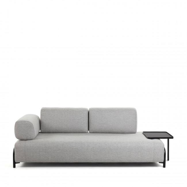 Duabo - Bout de canapé en métal