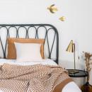 Tête de lit en rotin Atilan