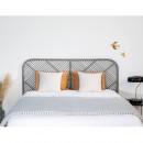 Tête de lit en rotin Kayan