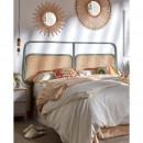 Margaret - Tête de lit en rotin 170cm