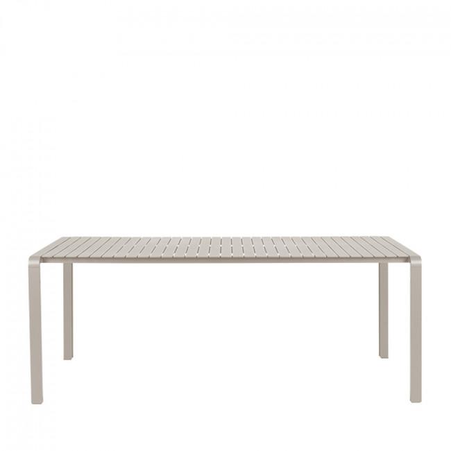 Vondel - Table de jardin en métal 214x97cm