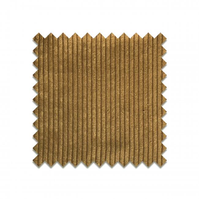 HONEY YELLOW - Echantillon gratuit velours côtelé bronze