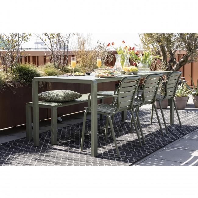 Vondel - 2 fauteuils de jardin en métal