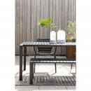 Vondel - Banc de jardin en métal 175x45cm