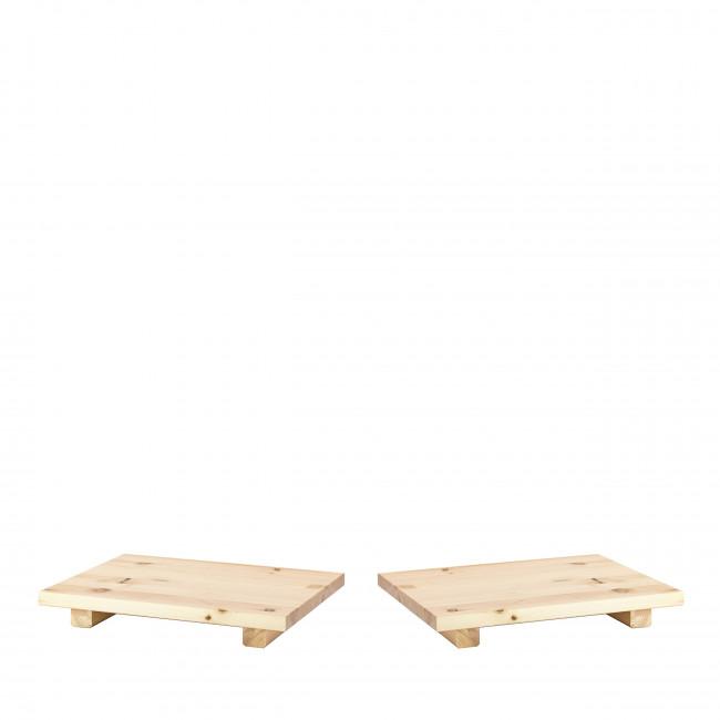 Dock - 2 tables de chevet en bois