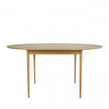 Hogarn - Table à manger ronde extensible 120-155x120cm