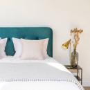 Otello - Tête de lit en velours 160 cm