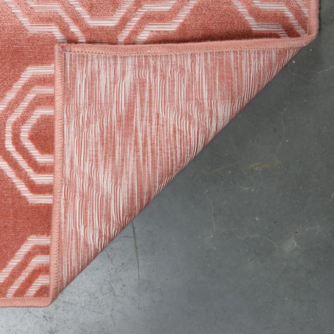 Tapis à motifs rose 160X230 Feike