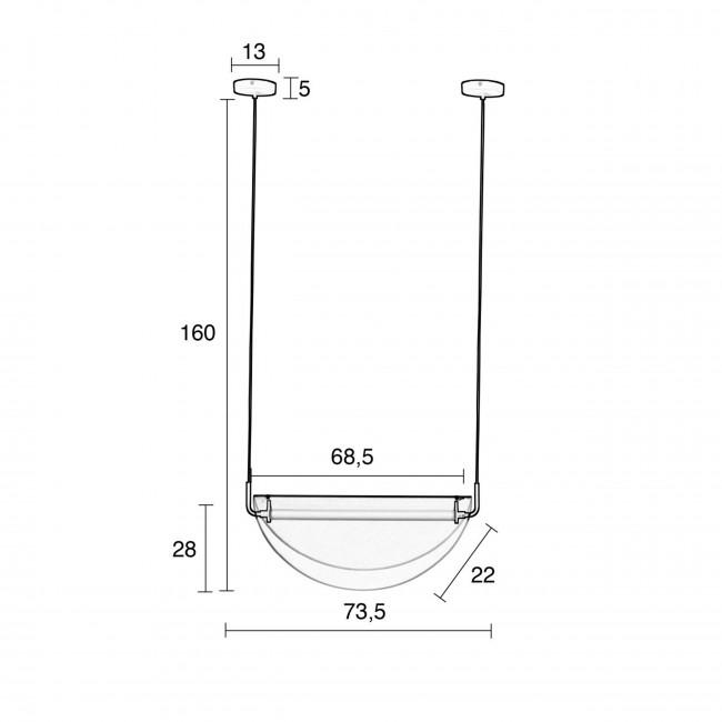 Rani - Suspension design en métal