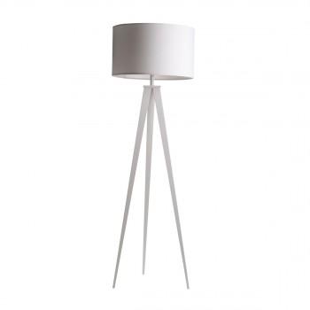 Lampadaire Tripod Metal blanc